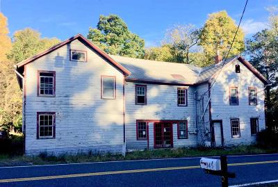 Saugerties Single Family Home For Sale: 346 West Saugerties Road