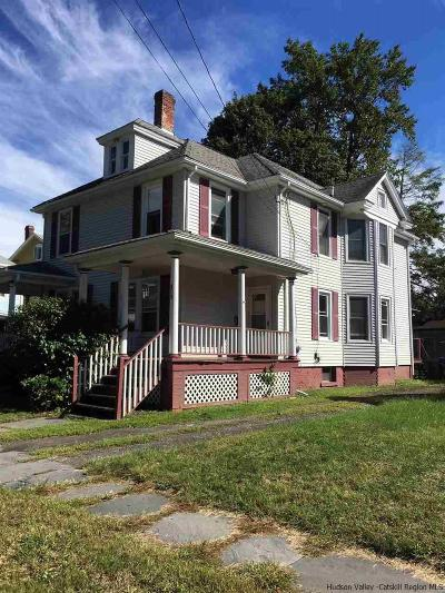 Saugerties Multi Family Home Fully Executed Contract: 44 Lafayette Street