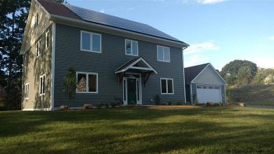 New Paltz NY Single Family Home Pcs W/Major Contingency: $550,000