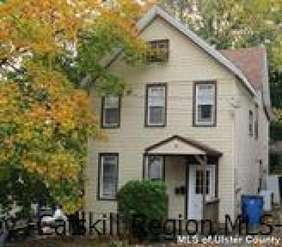 Ulster County Rental For Rent: 9 Hasbrouck Place #First Fl