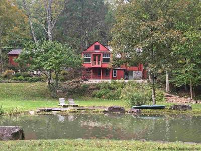 Phoenicia Single Family Home Fully Executed Contract: 461 Woodland Valley Road