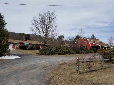Single Family Home For Sale: 4953 Route 32 Common