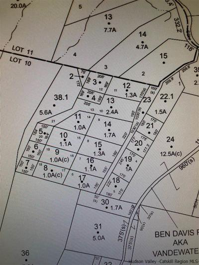 Ulster County Residential Lots & Land For Sale: Lot 4 Off Cottage Court