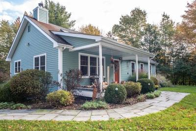 New Paltz Single Family Home Fully Executed Contract: 761 Albany Post Road