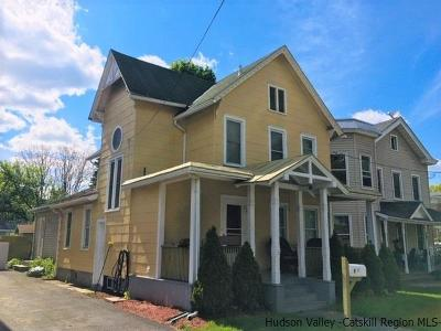 Saugerties Single Family Home For Sale: 22 Partition Street