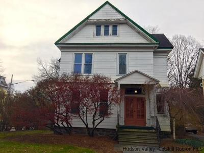 Ulster County Single Family Home For Sale: 133 Wall Street
