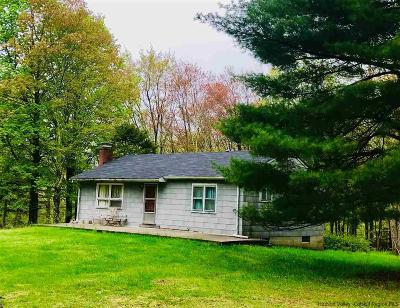 Ulster County Single Family Home For Sale: 84 Beecher Hill Road