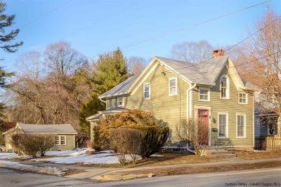 Rhinebeck Single Family Home For Sale: 133 E Market Street