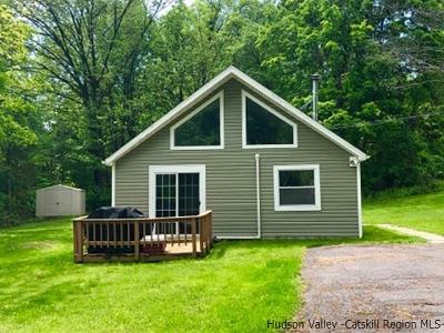 Kingston Single Family Home For Sale: 2180 Sawkill Ruby Road