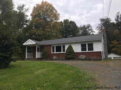Single Family Home Fully Executed Contract: 628 State Route 208 Route