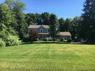 New Paltz Single Family Home Fully Executed Contract: 3 Waring Lane