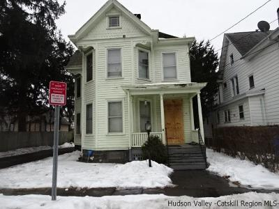 Kingston Single Family Home Fully Executed Contract: 189 Tremper Avenue