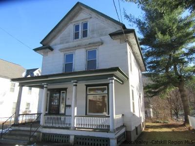Ellenville Single Family Home Fully Executed Contract: 13 Yankee Place