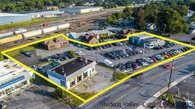 Kingston Commercial For Sale: 552-554-560 Albany Avenue