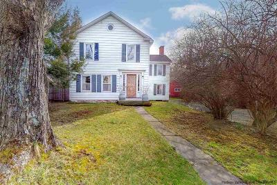 Saugerties NY Single Family Home Fully Executed Contract: $399,000
