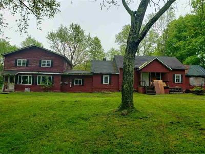 New Paltz NY Single Family Home For Sale: $120,000