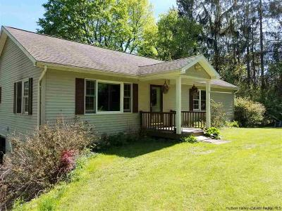 Marbletown Single Family Home Fully Executed Contract: 4111 Route 209