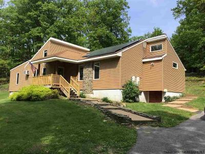 Rhinebeck Single Family Home Fully Executed Contract: 468 Enterprise Road