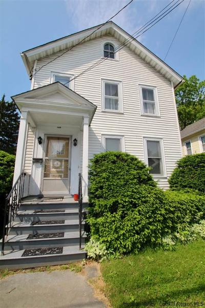 Kingston Single Family Home For Sale: 147 Washington Avenue