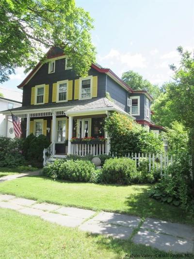 Saugerties Single Family Home Fully Executed Contract: 71 Elm Street
