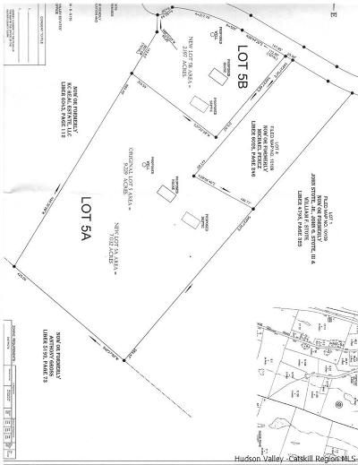 Ulster County Residential Lots & Land For Sale: Lot 5a Fortune Valley Lane