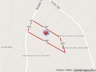 Ulster County Residential Lots & Land For Sale: 8 Braden