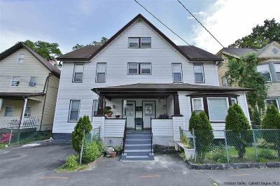 Kingston Multi Family Home For Sale: 619-621 Delaware Avenue