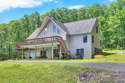 Orange County, Sullivan County, Ulster County Single Family Home For Sale: 519 Upper Cherrytown Road