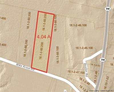 Saugerties Residential Lots & Land For Sale: 289 Mike Krout Road