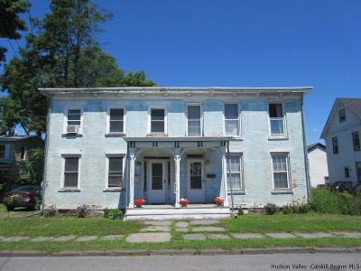 Saugerties Multi Family Home For Sale: 353 Main Street