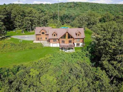Single Family Home For Sale: 390 Mt. Zion Road
