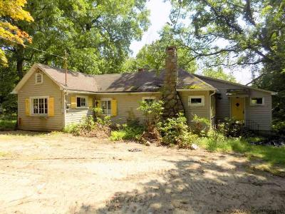 Single Family Home For Sale: 516 Upper Mountain Road