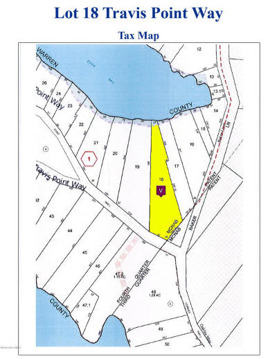 Residential Lots & Land For Sale: Lot 18 Travis Point Way
