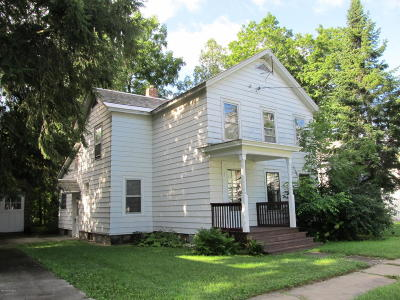 Fort Edward Single Family Home For Sale: 54 Notre Dame Street