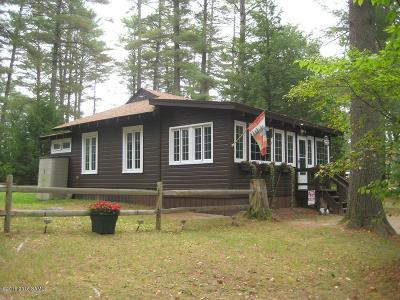 Horicon Single Family Home Contingent Contract: 3915a East Schroon River Road