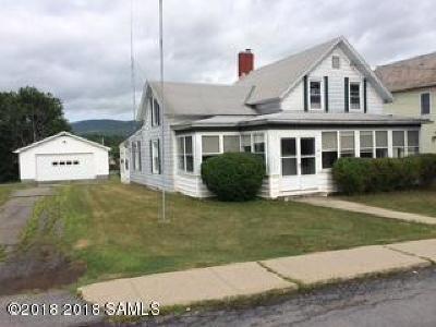 Ticonderoga Single Family Home For Sale: 89 Lake George Ave