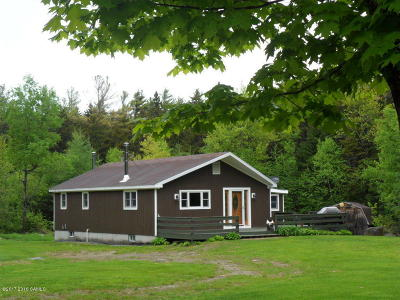 Schroon Single Family Home Contingent Contract: 352 Loch Muller