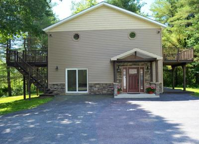 Wilton Single Family Home Contingent Contract: 91 Old Saratoga