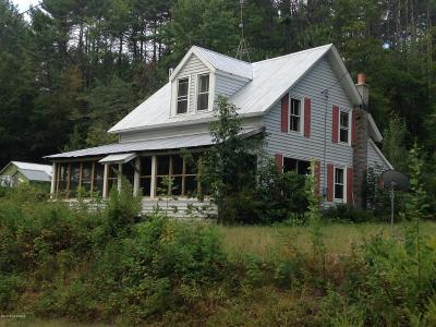Warrensburg NY Single Family Home Contingent Contract: $139,900