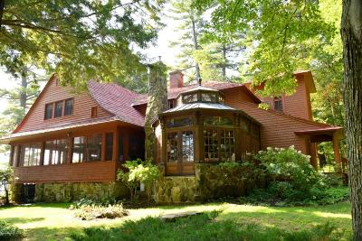 Bolton NY Single Family Home For Sale: $2,675,000