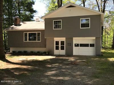 Lake George Single Family Home Contingent Contract: 58 Lake View Circle Drive
