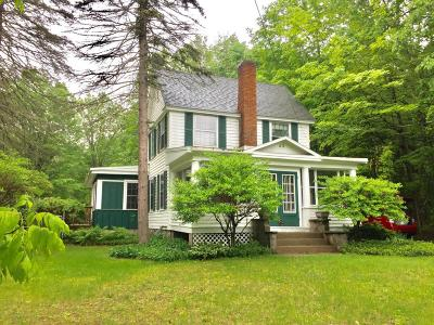 Lake George Single Family Home Contingent Contract: 53 Birch Avenue