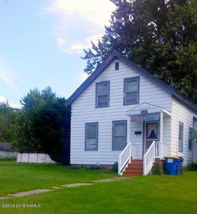 Ticonderoga Single Family Home For Sale: 46 Defiance Street
