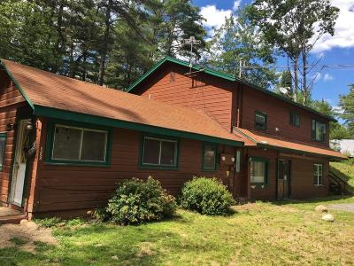 Lake Luzerne Multi Family Home For Sale: 1353 Lake Ave