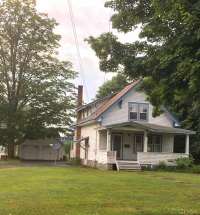 Warrensburg NY Single Family Home Contingent Contract: $115,000
