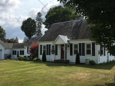 Warrensburg NY Single Family Home Contingent Contract: $179,900