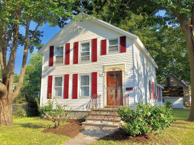 Glens Falls Single Family Home Contingent Contract: 40 Orville Street