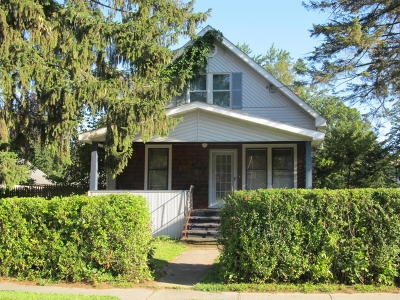 Glens Falls Single Family Home Contingent Contract: 162 Sanford Street