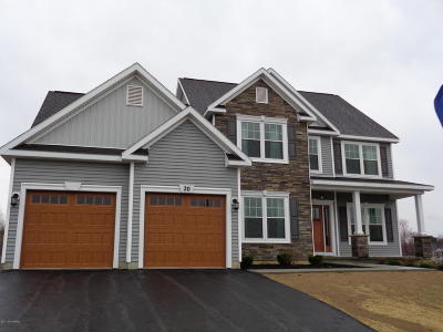 Queensbury Single Family Home For Sale: Lot 25 Richmond Hill
