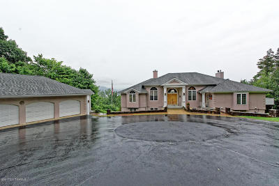 Lake George Single Family Home Contingent Contract: 548 Lockhart Mountain Road